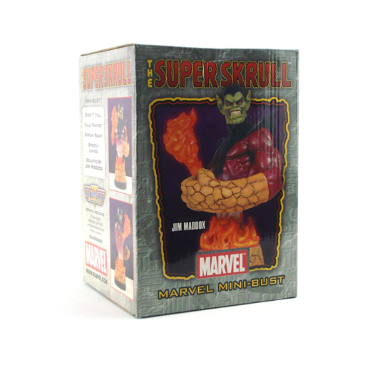 Super Skrull Mini Bust Limited Edition by Bowen Designs