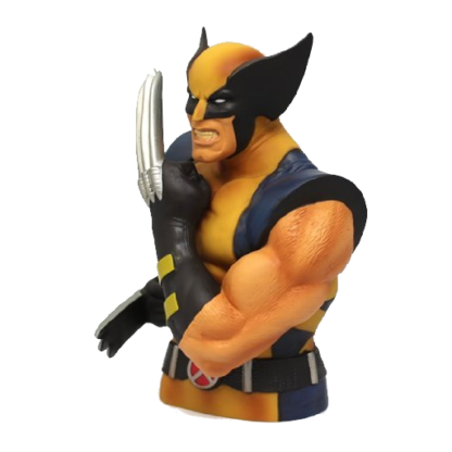 Monogram International Wolverine Bust Bank