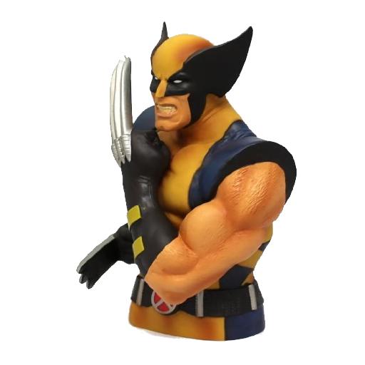 Monogram International Wolverine Bust Bank