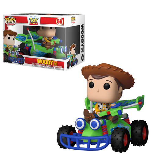 Funko POP - Riders - Toy Story - Woody With RC #56